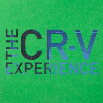 Mightyworld Honda CRV experience brochure print design