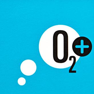Mightyworld Oxygen Plus logo branding design